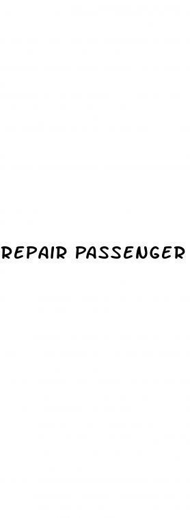 Repair Passenger Side Window