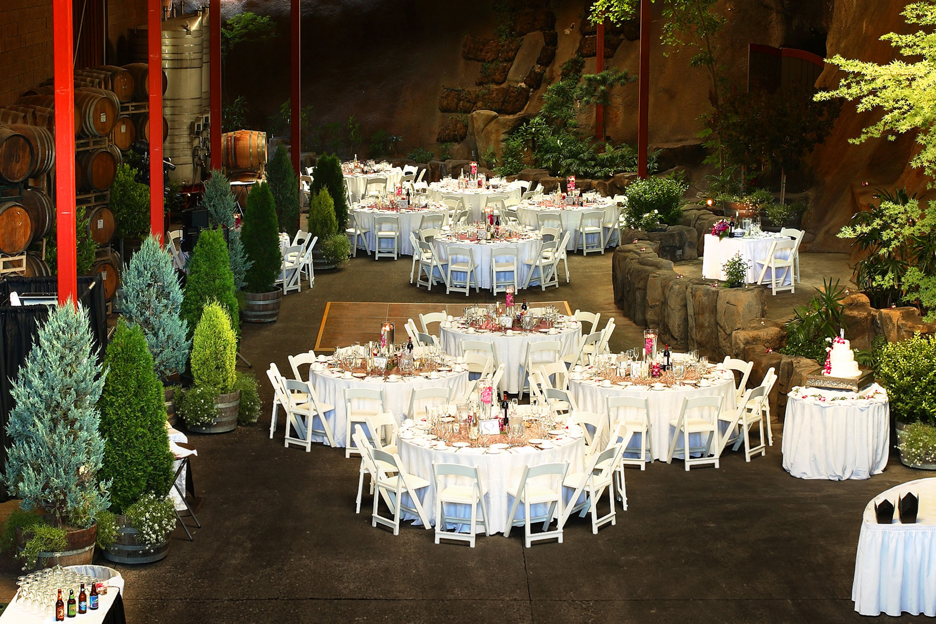 Ironstone Wedding Endless Options