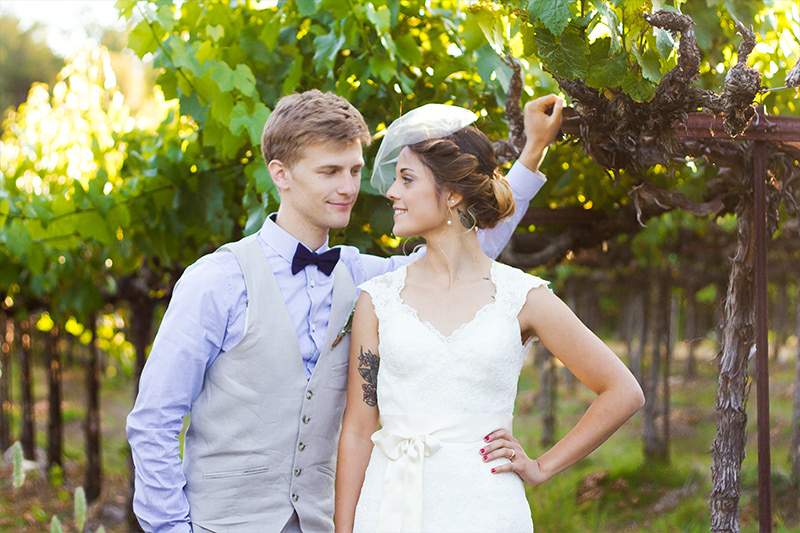 Mike and Sam Wedding Review at Ironstone Vineyards